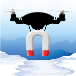 Drone Magnet Ice Fishing game app store links